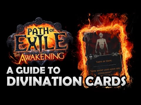 Divination card - Official Path of Exile Wiki