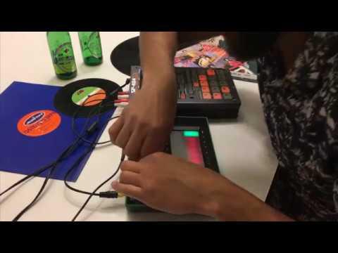 Late night Remix Sampling Disco & Acid on Roland SP-404 & TB-3