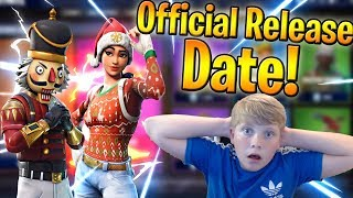 🔴Season 5 Battle Pass Giveaway! l Christmas Skins Release Date! (Fortnite: Battle Royale)