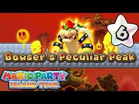 Mario Party Island Tour - Part 6: Bowser's Peculiar Peak!