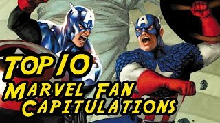 Top 10 Marvel Fan Capitulations – The best of giving up!