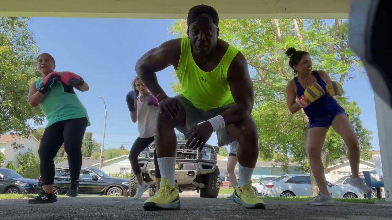This is Tae Bo EXPRESS!