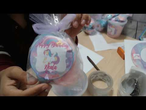 4 Different Cotton Candy Assembly/ Package Ideas