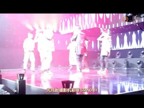 INFINITE interact with APINK male fans and L manly shout 인피니트 에이핑크 PINKFINITE MOMENT