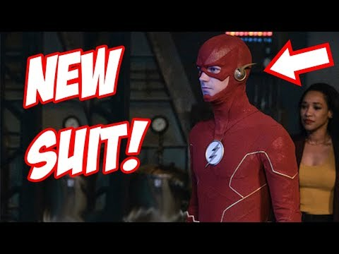 New Flash Suit Revealed! Chinstrap Returns! - The Flash Season 6