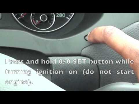 How to Reset Service Light on 2012 VW Jetta/Golf