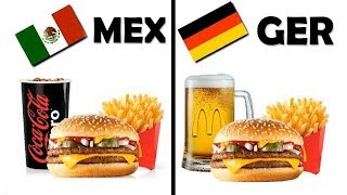 Different McDonald Meals Around The World