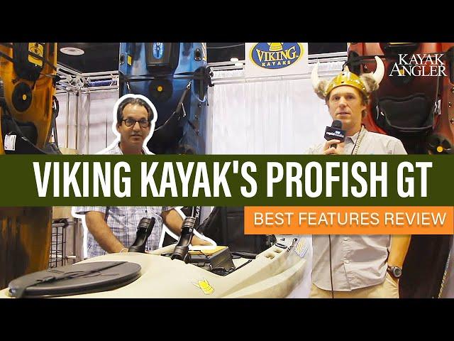 Viking Kayak's Profish GT | Fishing Kayak | Features Review & Walk Around
