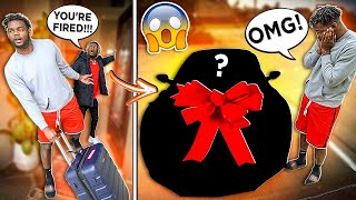 Firing my camera Man, Then Surprising Him With A New Car!!!😱