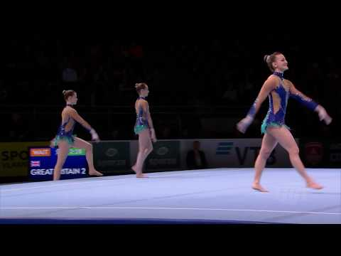 2018 Acrobatic Worlds – France, Women's Group Qualifications