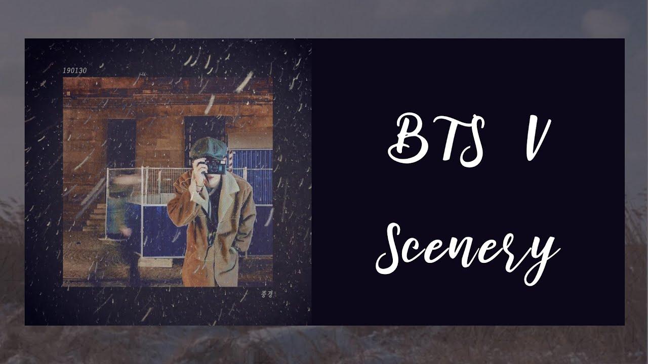 BTS  BTS V       Scenery