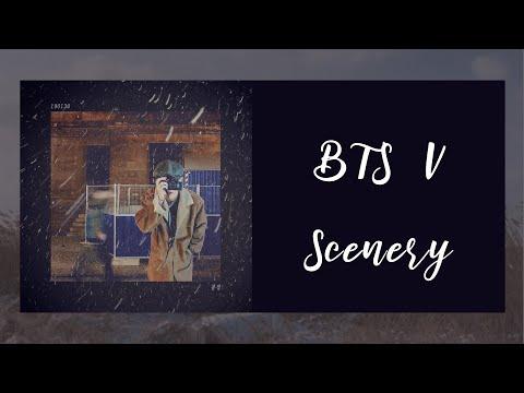 【韓繁中字】BTS 金泰亨 (BTS V 뷔 / 김태형 ) — 風景 (Scenery / 풍경) [自創曲]