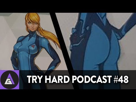 Our Favorite Rendition of Samus EVER! | Try Hard Podcast #48