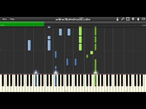 BTS - Run (Piano) [Synthesia]