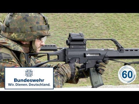 60 Sekunden Bundeswehr: Gewehr G36