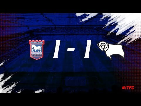 HIGHLIGHTS | Ipswich Town 1 Derby County 1