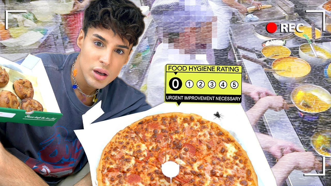 I ate at ZERO HYGIENE RATING Restaurants For a Day