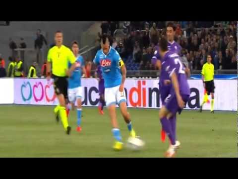 Lorenzo Insigne Fantastic Goal || Napoli vs Fiorentina 1-0 || 03/05/2014 || Coppa Italia 13-14