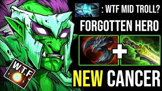 FORGOTTEN CARRY IS BACK Mid Troll Warlord 100% Max Root + Monster Lifesteal Meta 900GPM DotA 2