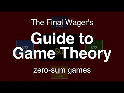 Guide to Game Theory - zero-sum games