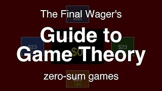 Guide To Game Theory Zero Sum Games
