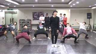 BTS 'Rise of Bangtan' mirrored Dance Practice