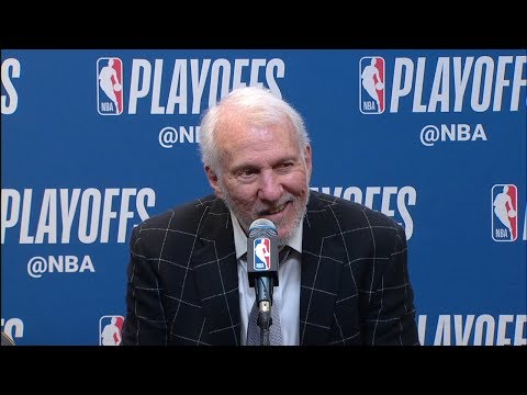 Gregg Popovich Postgame Interview - Game 6 | Nuggets vs Spurs | 2019 NBA Playoffs