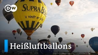 Das größte Heißluftballon-Event Europas   Euromaxx