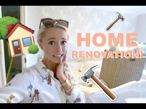 HOUSE TOUR!   🏠   Mid-Renovation - it's a Building Site!   |   Fashion Mumblr #EveryDayMay