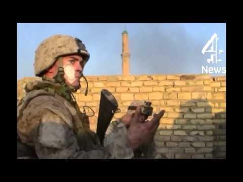 US Marines Still Battling to Secure Fallujah 2004