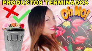 PRODUCTOS TERMINADOS MAYO 2019 OHH NO!!