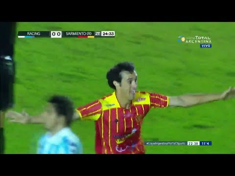 Sarmiento (R) vs Racing Club (1-0) Copa Argentina 2018