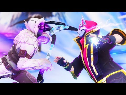 DRIFT AND ZENITH BATTLE FOR LYNX'S LOVE - A Fortnite Short Film