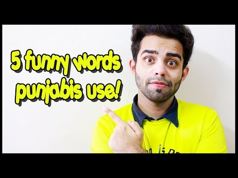 5 funny words Punjabis use | The Rajat Code