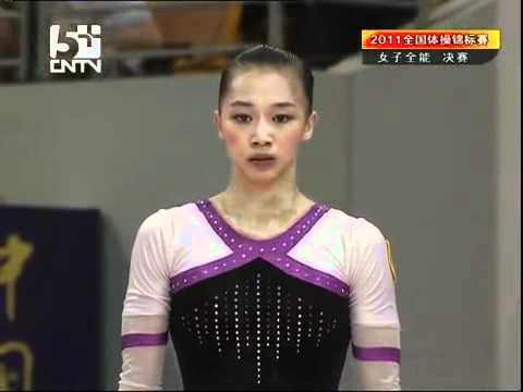 楊伊琳 YANG Yilin, FX AA - The 2011 Chinese National Gymnastics Championship