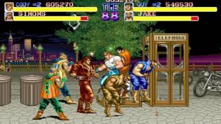 [TAS] [Obsoleted] Arcade Final Fight by Dark Noob & CReTiNo in 14:42.5