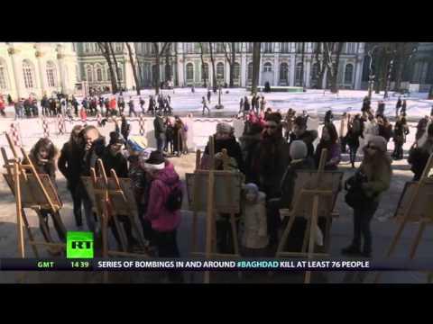 Secret Hermitage helpers - Russia Today