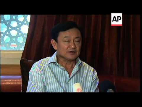Thaksin Shinawatra comments on election