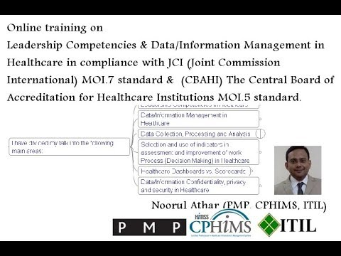 Leadership Competencies & Data/Information  Management in Healthcare