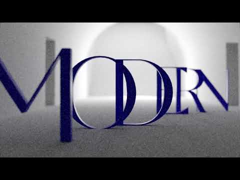 GALLERY MODERN Font   overdramatic 3D video-project