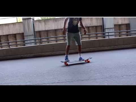 Longboarding: Berlin + Apex 37 DiamondDrop