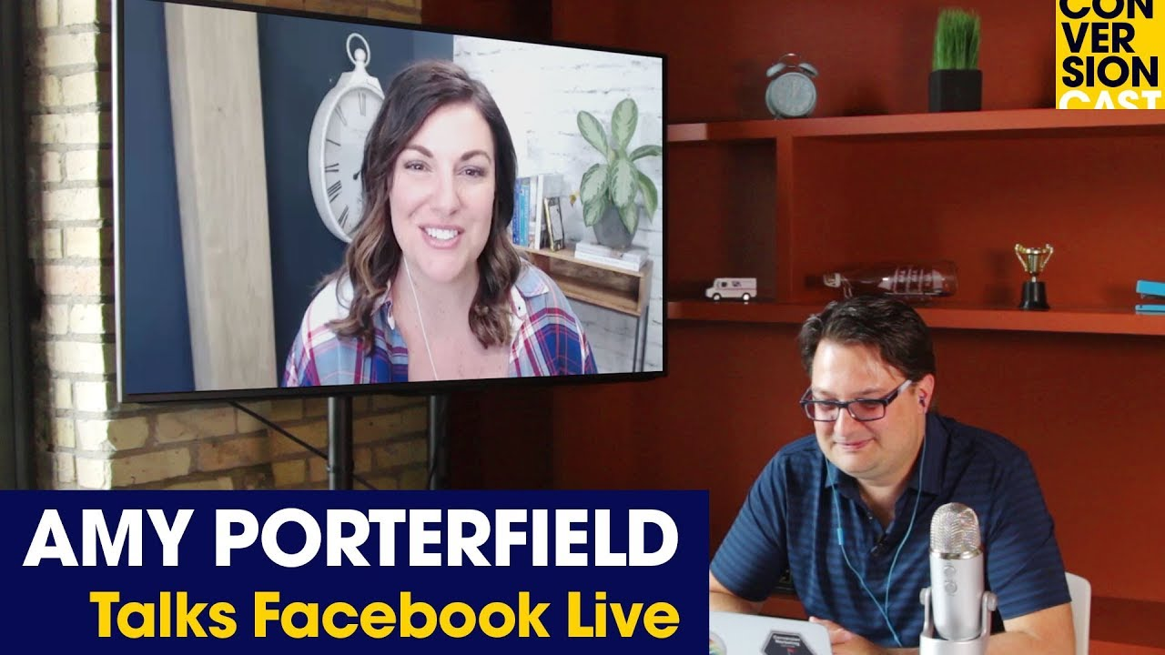 Amy Porterfield's Facebook Live Fueled Product Launch
