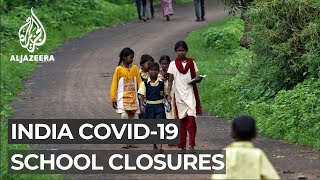 Millions of children missing school in India COVID outbreak