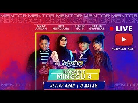 [LIVE] Konsert Mentor [Minggu 4] - Siapakah protege terbaik? | #Mentor7