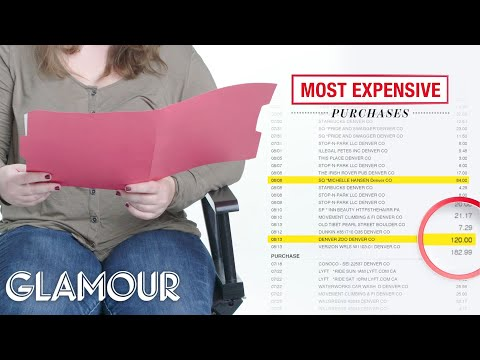 How One Woman Spends Her $40,000 Salary | Honest Accounts | Glamour