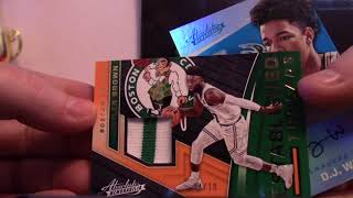 2017/18 Panini Absolute Basketball 5 Box 1/2 Case Serial #s GB