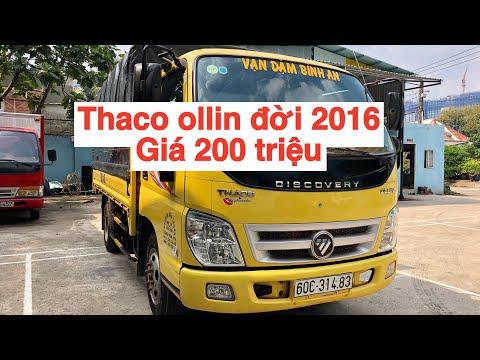 Thaco ollin 2,4 tấn cũ đời 2016 giá 200 triệu/Quang:0901.60.71.75