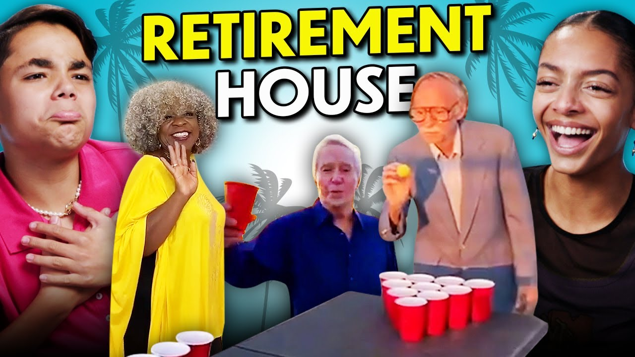 Teens React To Retirement House (TikTok's Newest Content House)