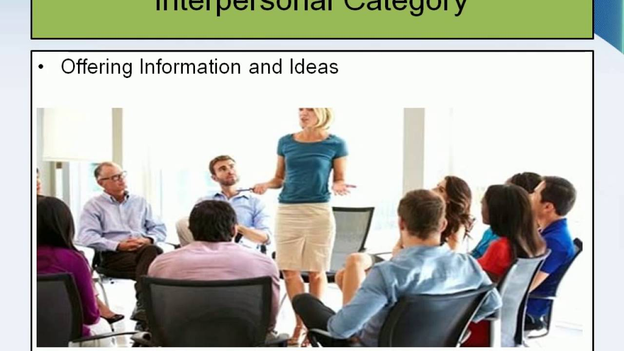 lecture how strong interpersonal skills is important for good lecture 4 how strong interpersonal skills is important for good manager