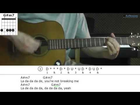 How to play Unbreakable Smile with Tori Kelly (Guitar lesson)